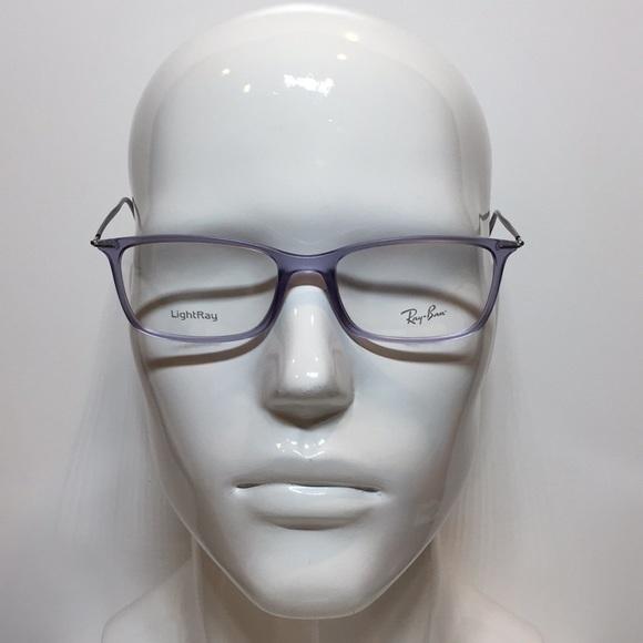 f19ab37e8ee Ray Ban 7031 5401 crystal purple plastic glasses